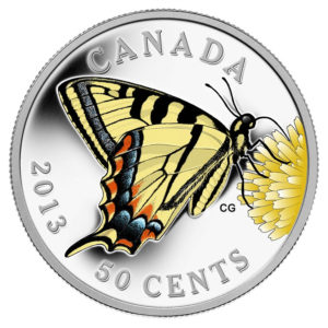 2013 Butterflies of Canada - Canadian Tiger Swallowtail
