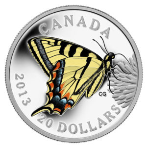 2013-Butterflies-of-Canada-Canadian-Tiger-Swallowtail