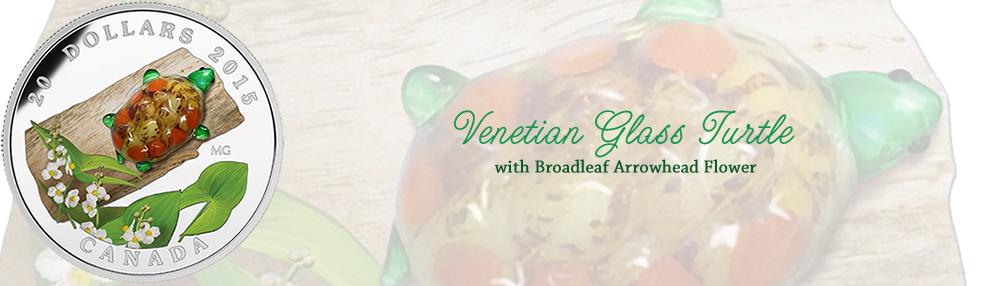 Venetian Glass Turtle